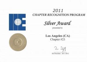 2011-LA-chapter-Silver-Award