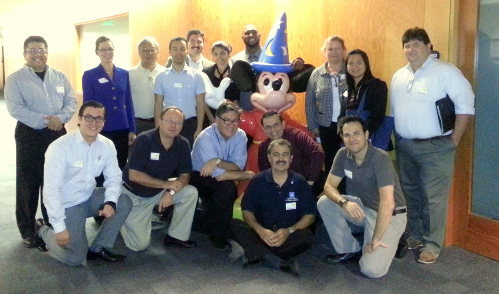 IIE LA & OC chapters met at Disney Oct 4, 2012