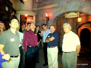 Disney backstage tour with IIE LA