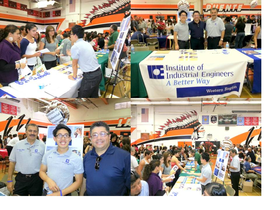 La Puente High School College Fair, Sep 29, 2012 with IIE representatives from LA